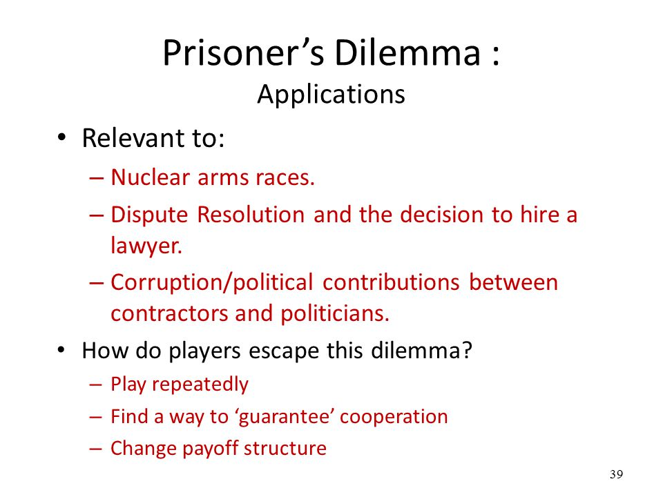 online dating prisoner dilemma Online dating is already incredibly time consuming what percentage of profiles do you think are fake is love at dating site fake are dating sites secured.