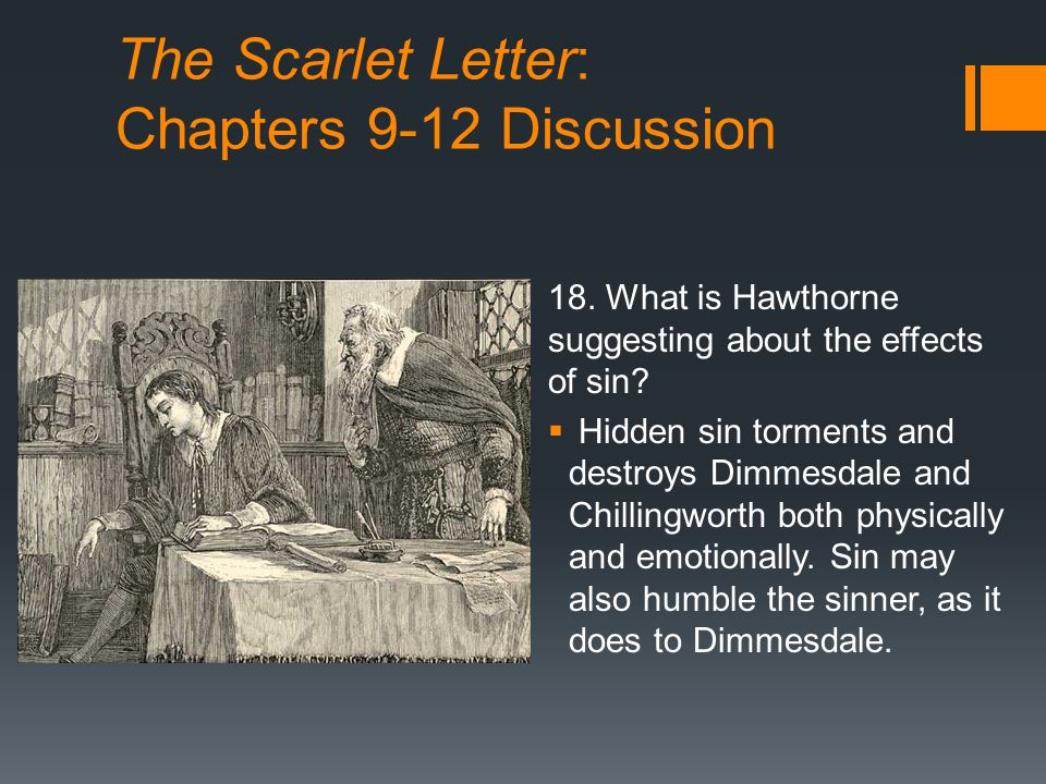 What Does The Scarlet Letter Stand For