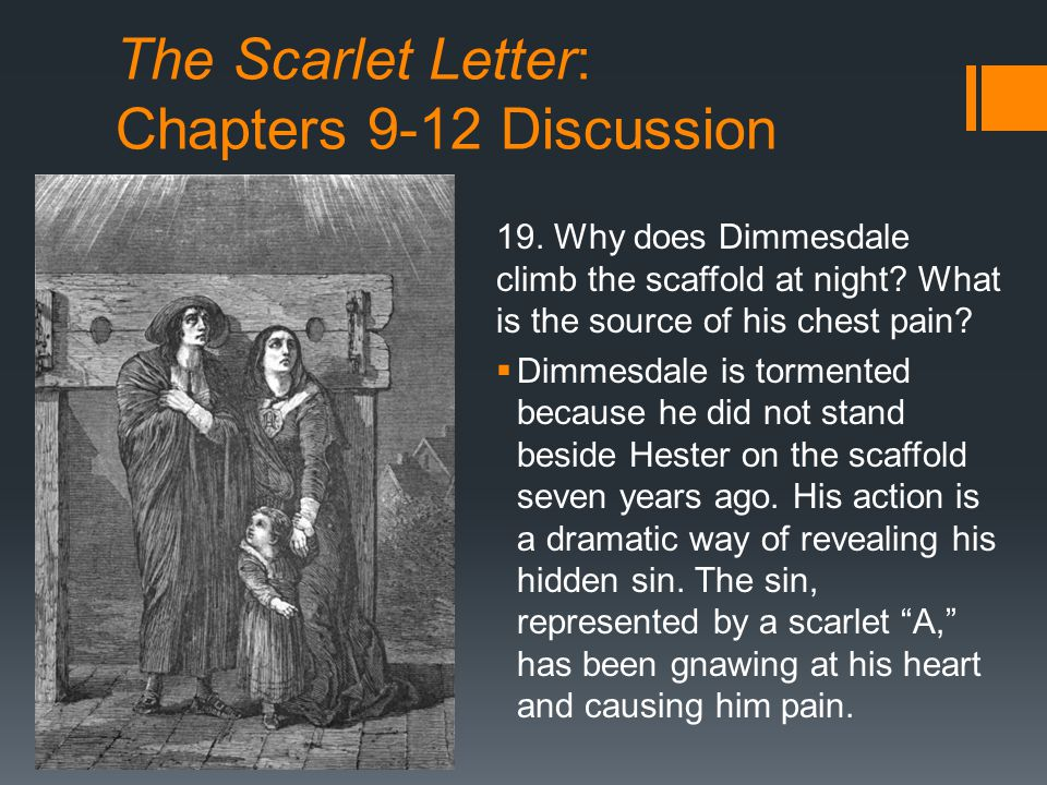 Supernatural Occurrences In The Scarlet Letter