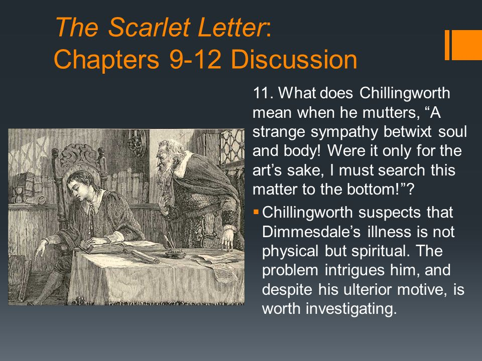 scarlet letter relationship between chillingworth and dimmesdale