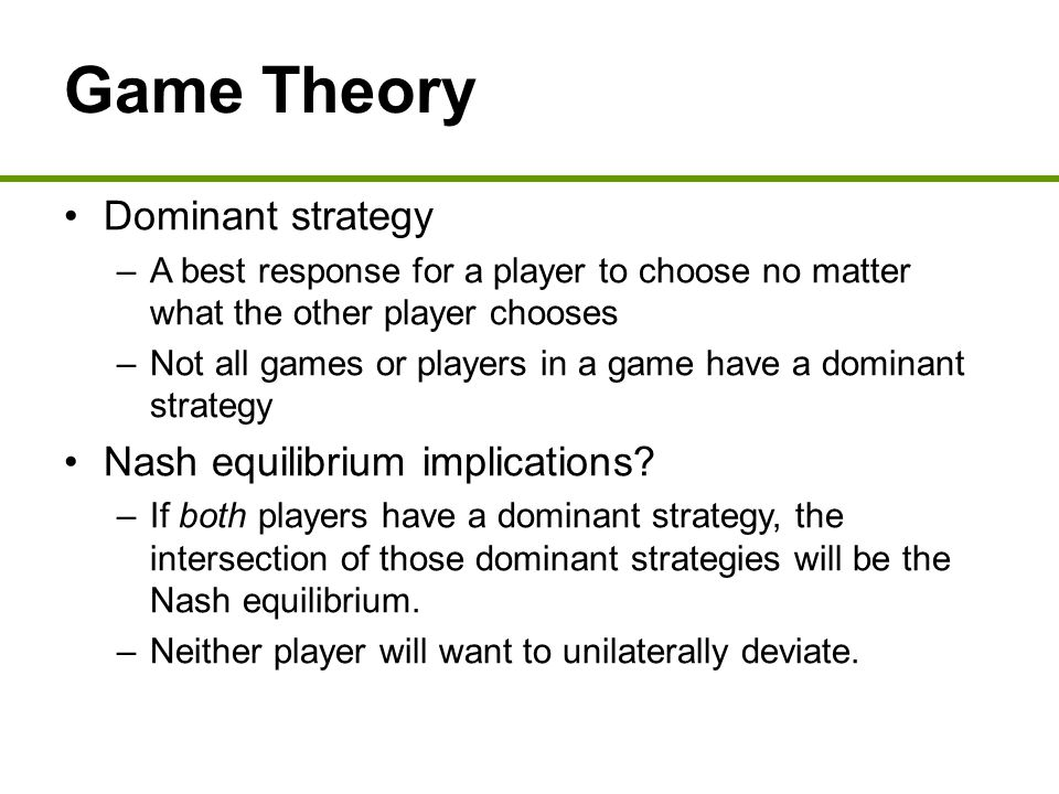"""game theory and ahp to choose This book presents the main ideas of game theory and shows how they can be used to understand economic, social i choose a different solution: i use """"she."""