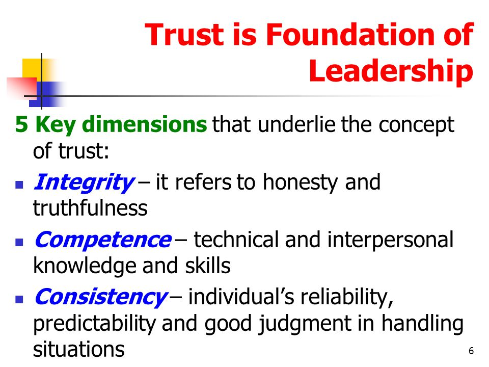 trust and interpersonal relationships The science of interpersonal trust randy borum university of south florida, wborum@usfedu  • individual differences substantially affect trust relationships the propensity to trust varies from person to personand from condition to condition, and is influencedby a variety of factors, including past.
