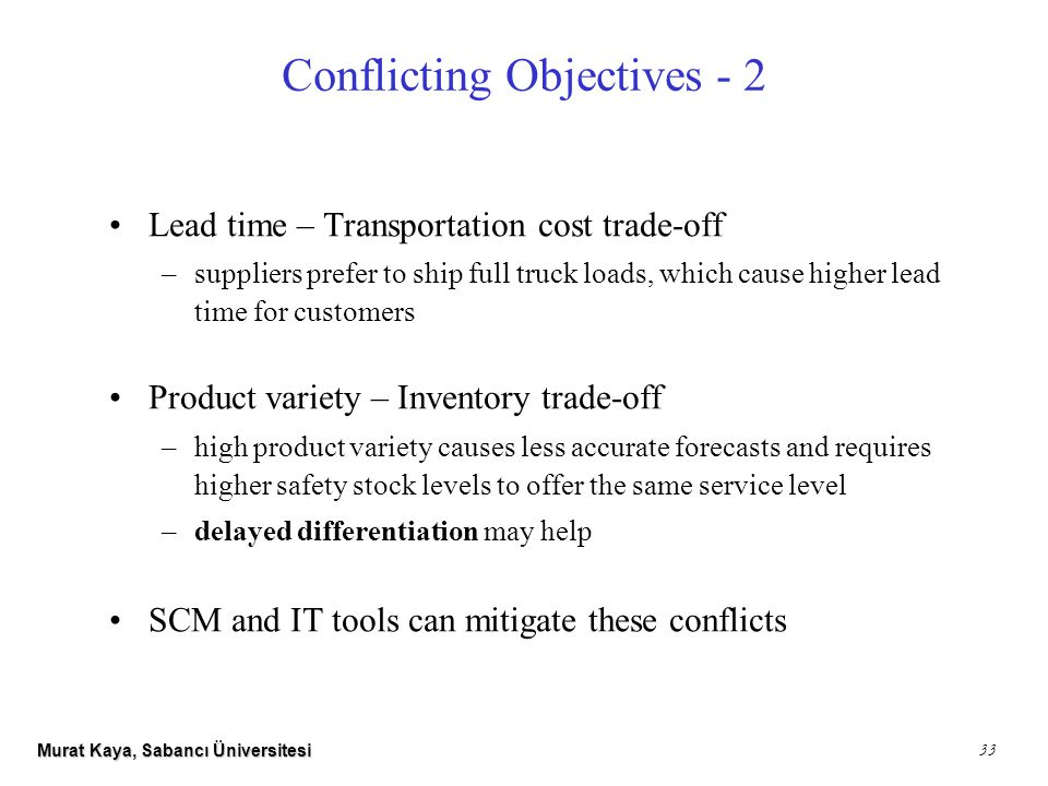 conflicting objectives I have two business stakeholders who have conflicting requirements how do i figure out what's best for the organization in a perfect world, all the people engaged in a project would line up in neat rows, aligned with the objectives in precisely the same way.