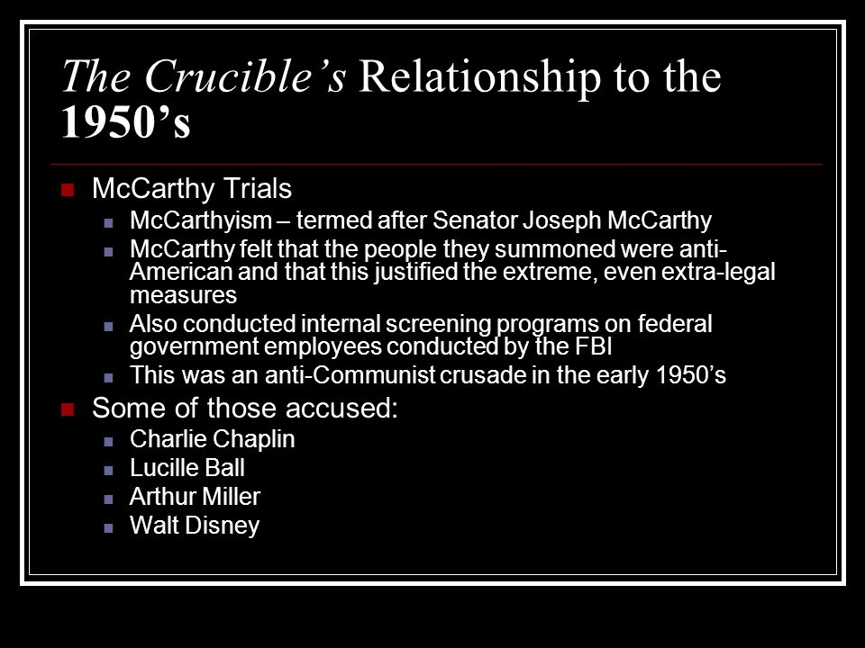 callous attitudes in the crucible The crucible by arthur miller name someone could say that you have a callous attitude if you don't care about people who are less fortunate.