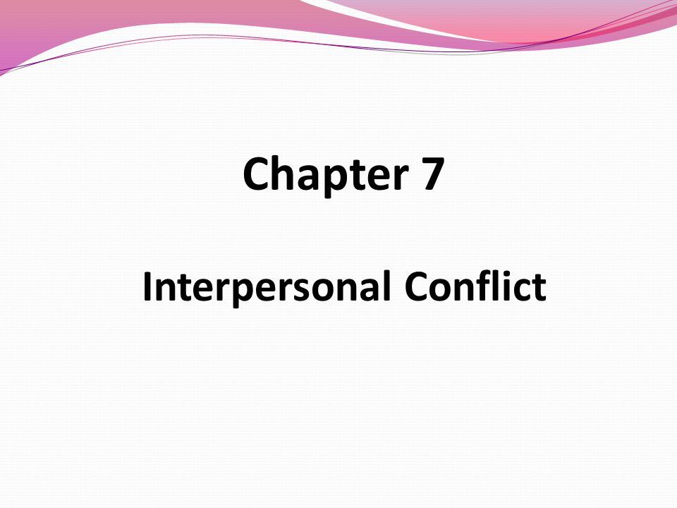 Interpersonal Conflict by Joyce L. Hocker and William W. Wilmot (2005,...