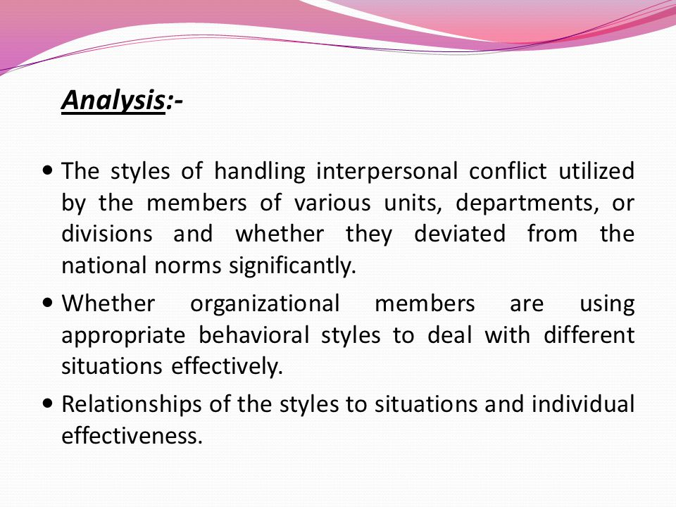 What is Interpersonal Relationship ?