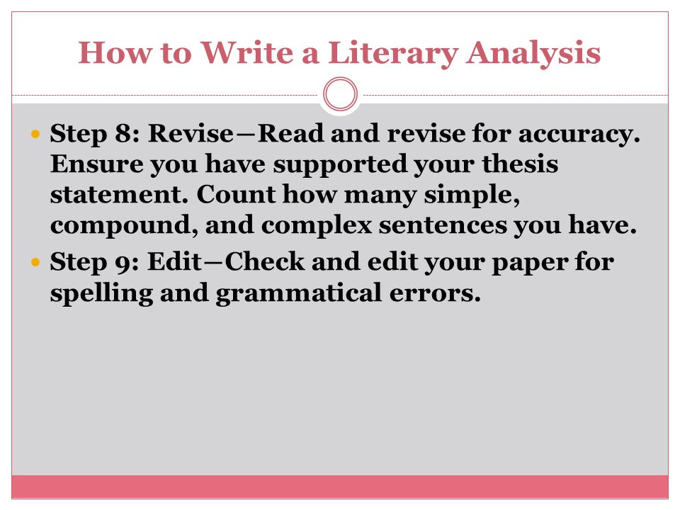 literary analysis research paper powerpoint How to write dissertation proposal writing literary analysis essay powerpoint essay scholarships 2014 essays if you have a research paper that needs to be.