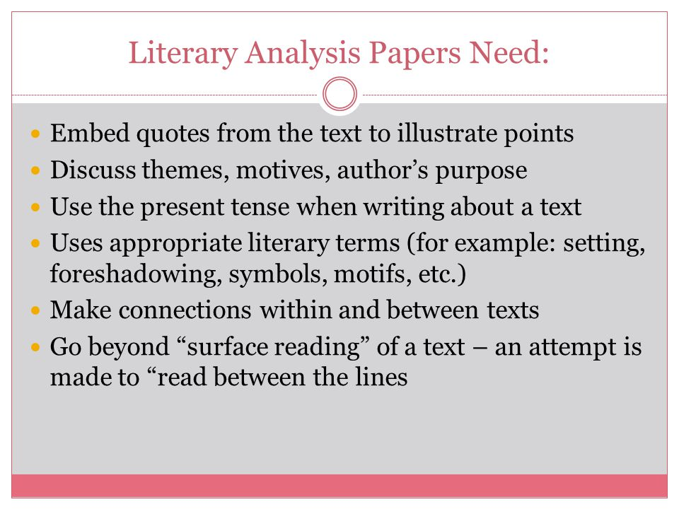 literature analysis terms Glossary of terms for the analysis of literature acrostic - usually verse arranged in such a way as to present names or phrases or sentences when.