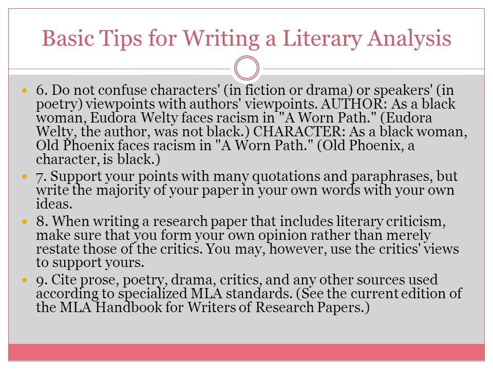 tips for writing a critical analysis essay