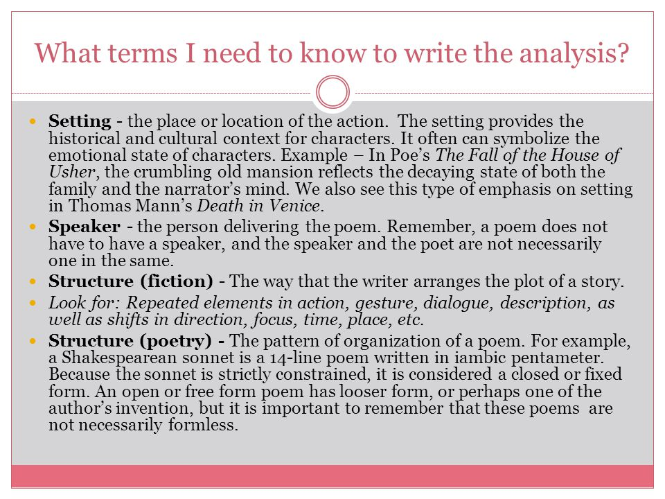 an introduction to the literary analysis of creating suspense in your writing Working on a literary analysis essay outline a critical analysis means an objective review of any piece of literature or writing when you create your.