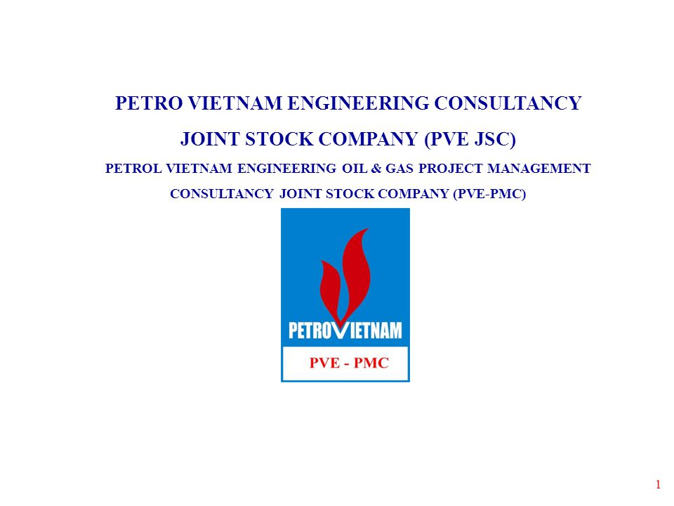 PETRO VIETNAM ENGINEERING CONSULTANCY JOINT STOCK COMPANY (PVE JSC)