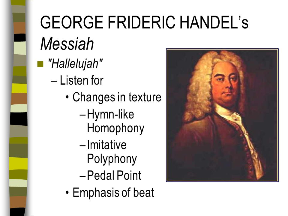 GEORGE FRIDERIC HANDEL's Messiah