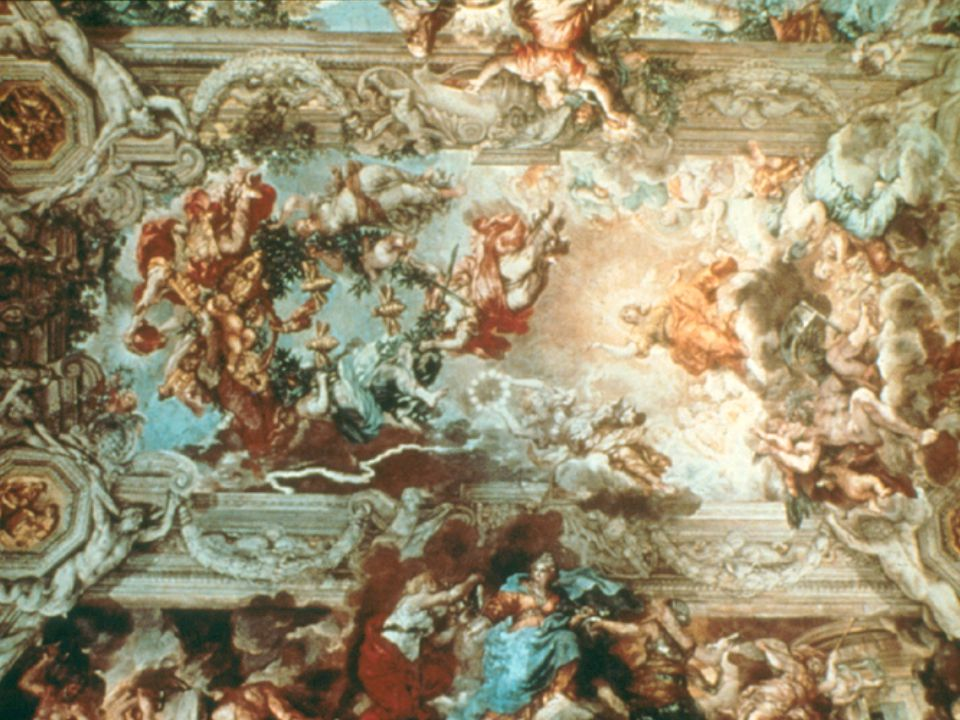 Triumph of the Barberini by Pietro Da Cortona