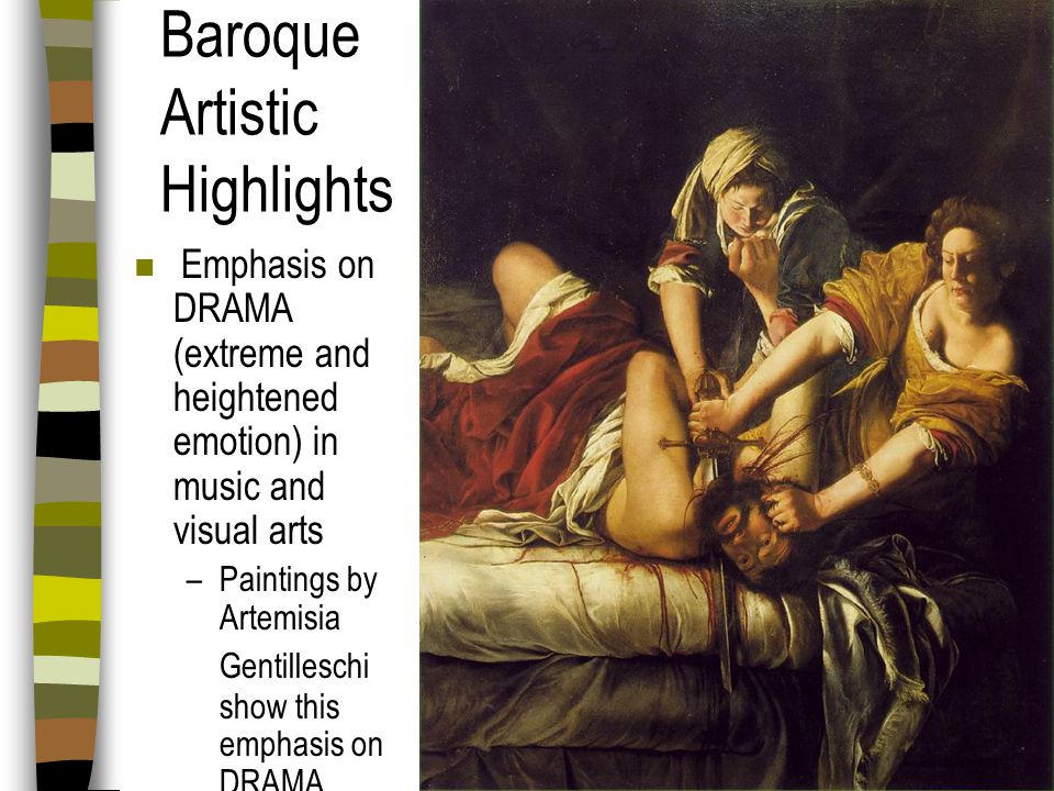 Baroque Artistic Highlights