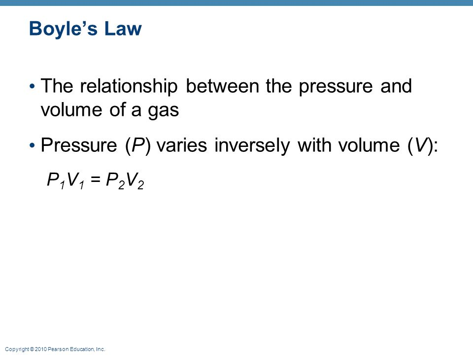 investigation of relationship between pressure volume Students explore the relationship among force, area, and pressure through a   such as volume and temperature can also influence pressure calculations.