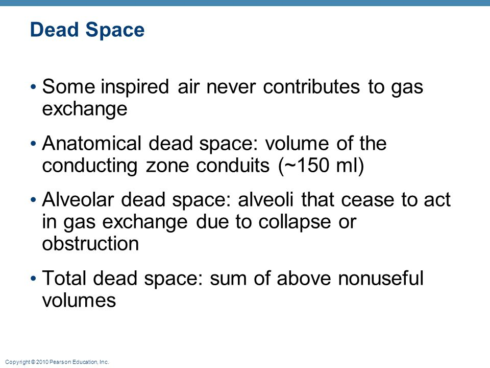 anatomical dead space and functional residual Physiological measurement, volume 36, number 7  dependence of lci on  dead space volume (vd), tidal volume (vt) and functional residual.