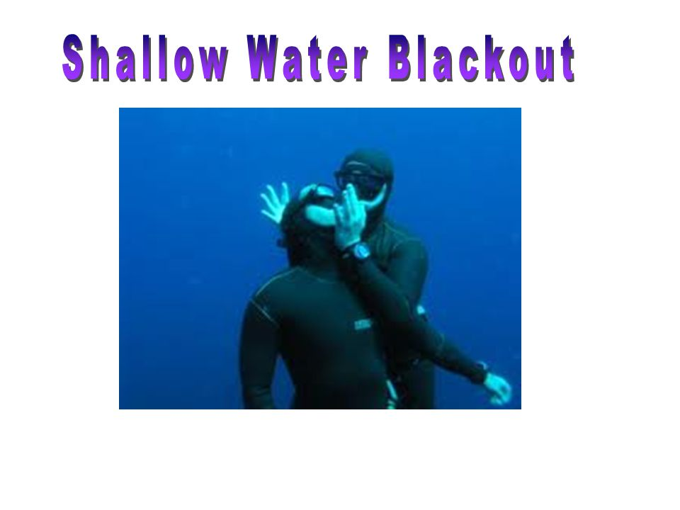 Shallow Water Blackout