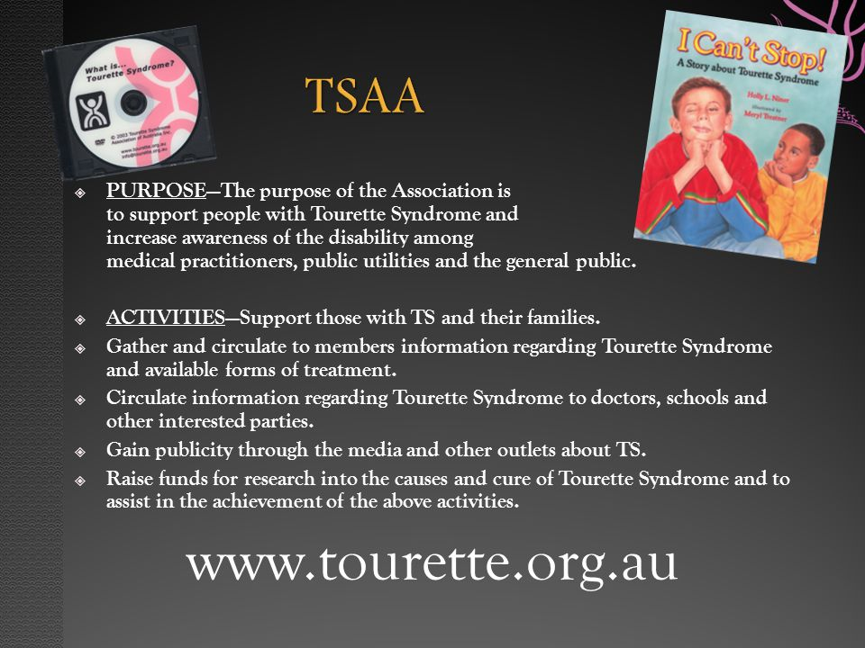 tourette treatment guidelines in australia