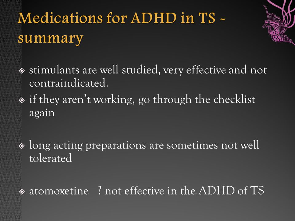 an overview of the disorder adhd Attention deficit hyperactivity disorder (adhd) is a common pediatric  this  systematic review updates and extends two previous agency for.