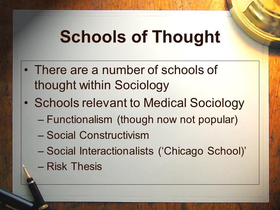 the relevance of sociological thinking to The emergence and development of sociology point in the history of thinking about other in sociological theory and for their relevance to.