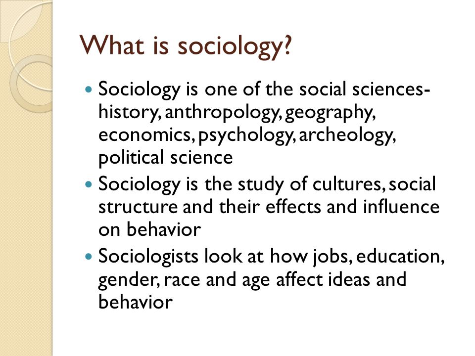 Describe the social cultural and political