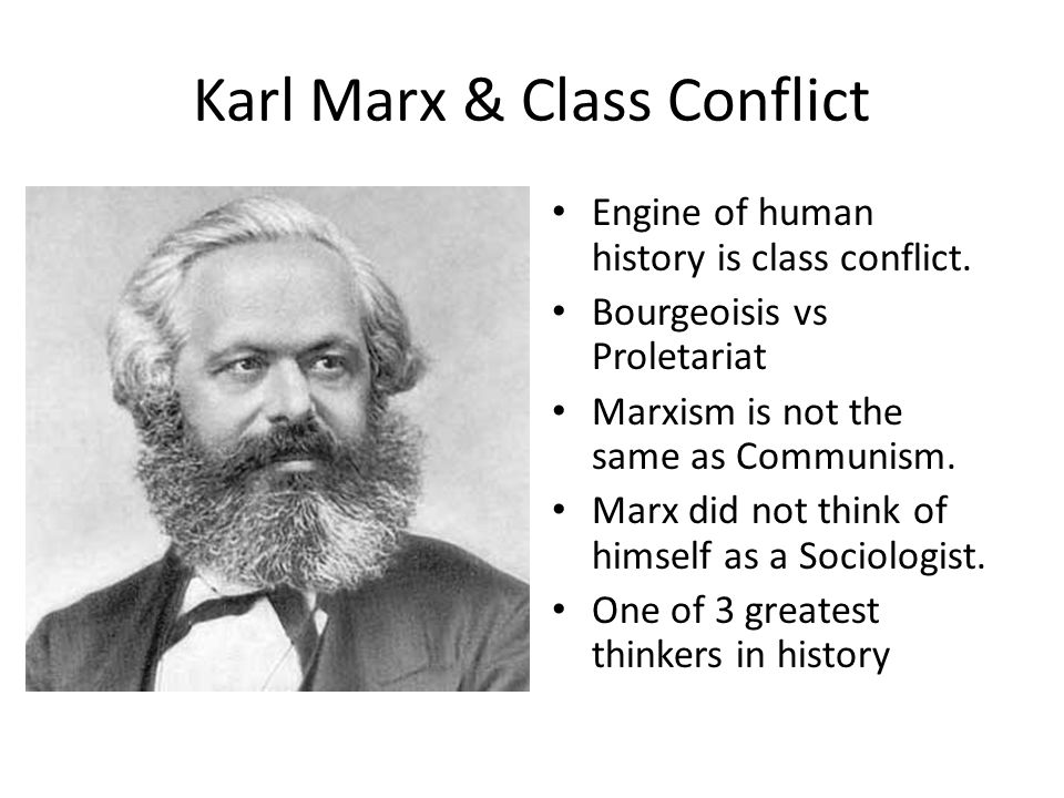 Karl Marx & Class Conflict