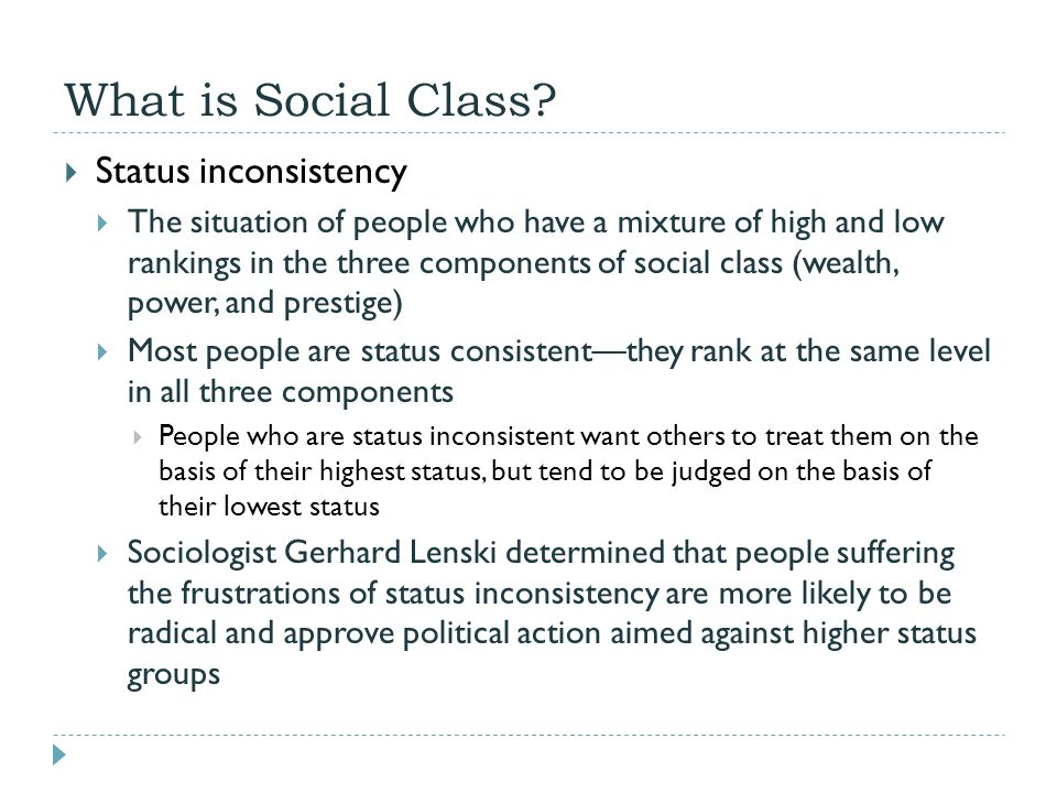 Dating someone lower social class