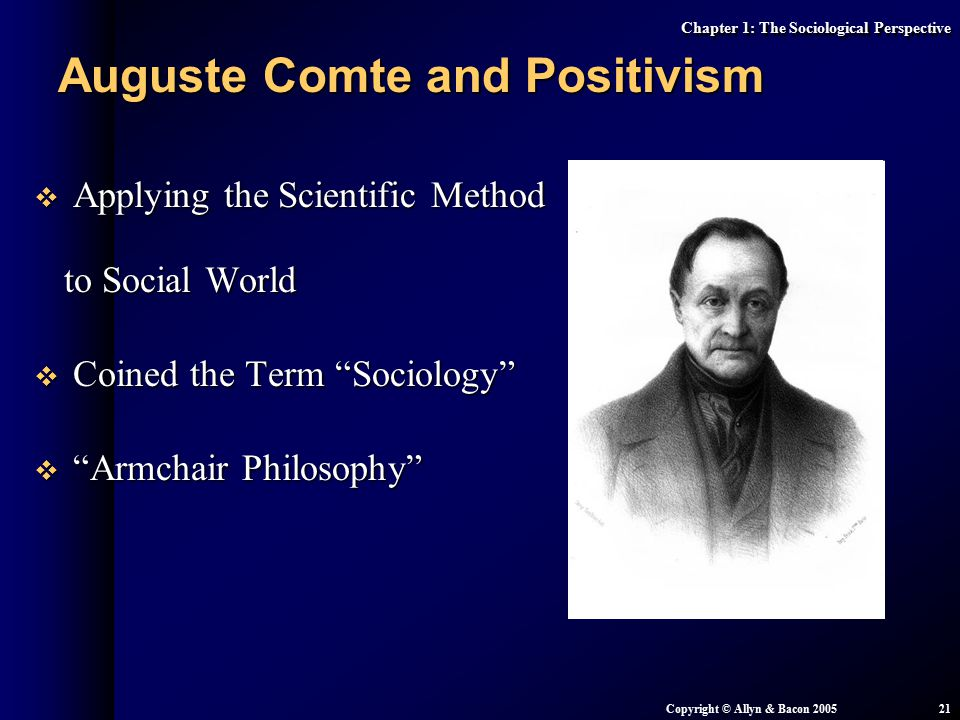 an analysis of the opinions of august comte and positivists on sociology as a natural science The critique of positivism  character of social science supposedly espoused by positivists  century french positivists, such as saint-simon and comte.
