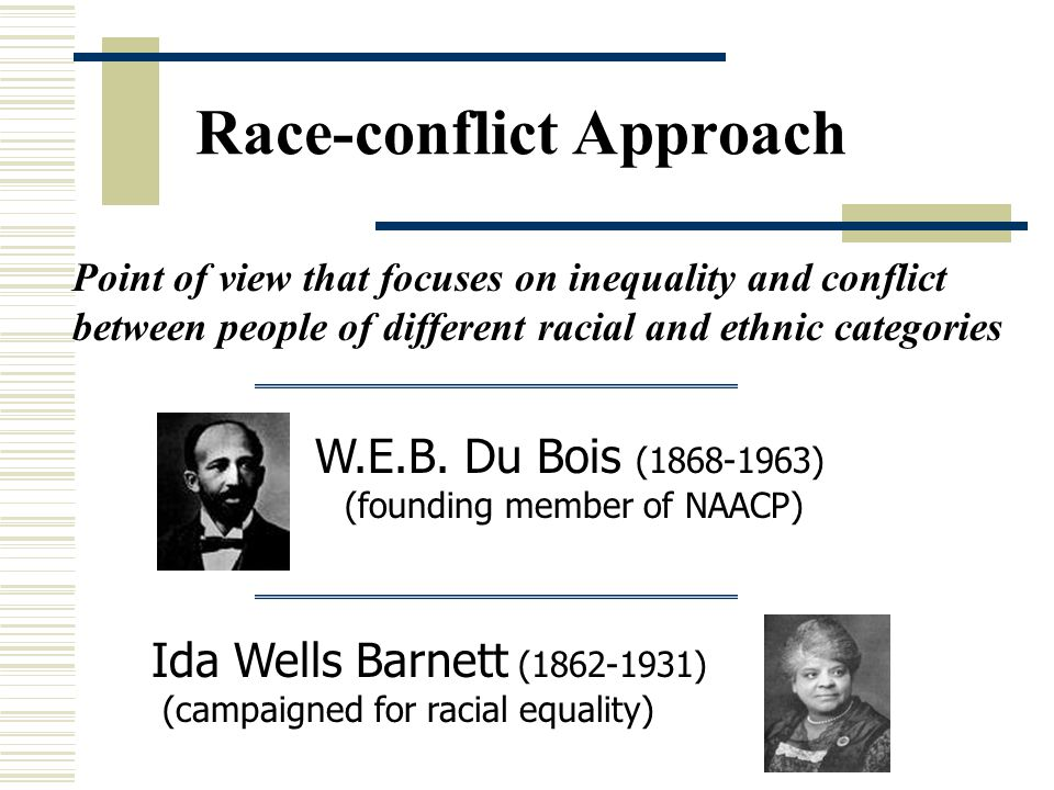 Race-conflict Approach