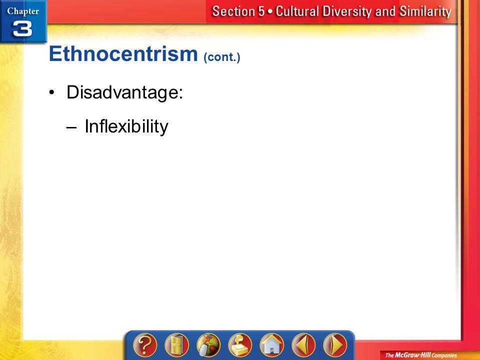 advantages and disadvantages of ethnocentrism pdf