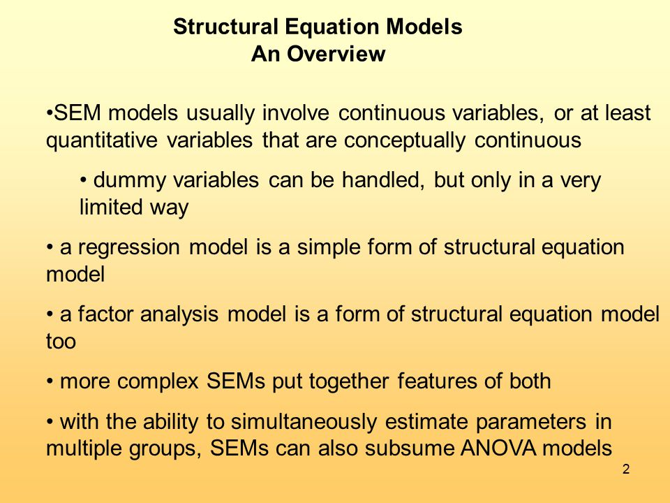 a structural equation model for analyzing The thurstonian approach accompanying structural equation modeling is a useful approach in modeling and analyzing ranking data the relationship between analyzi.