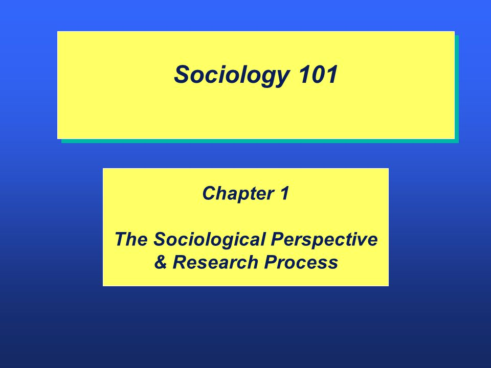 socoilogical perspectives Chapter one: the sociological perspective learning objectives discuss the different components of the sociological perspective understand the origins of sociology.