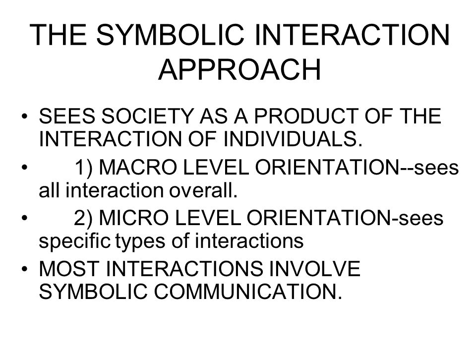 the interaction of micro society essay (micro level) •studies how people in everyday interaction construct reality •max weber's claim that people's beliefs and values shape society is the basis of the social-interaction approach.