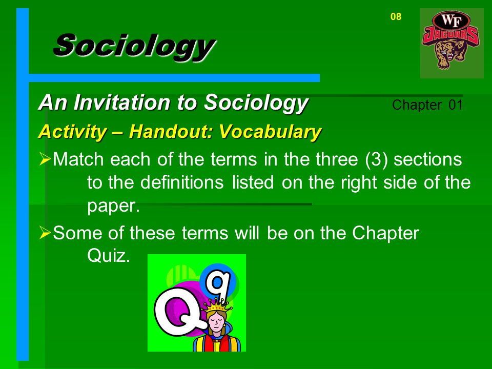 Sociology An Invitation to Sociology Chapter 01