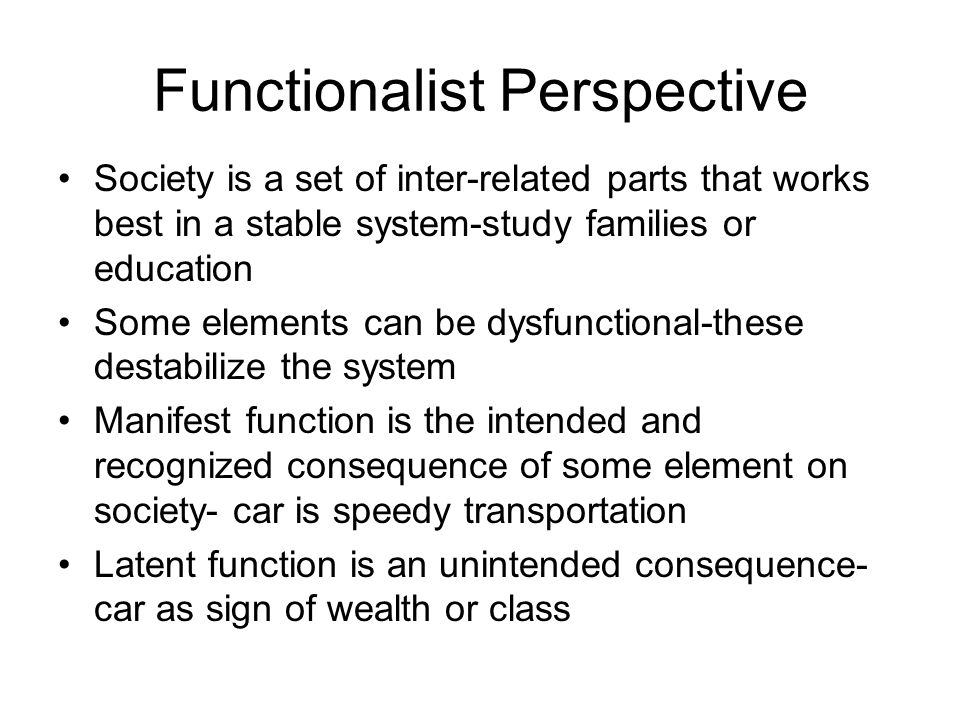functionalist conflict and symbolic perspectives on education Abstract what are the three major sociology perspectives in regards to social issues they are symbolic interactionism perspectives, functionalism perspectives, and conflict theory perspectives.
