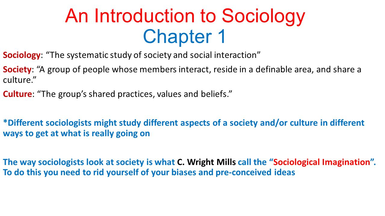 an introduction to living as a sociologist How to write an essay on sociology the number of people living in urbantown in 1972 likely was much lower try using a specific example in your introduction.