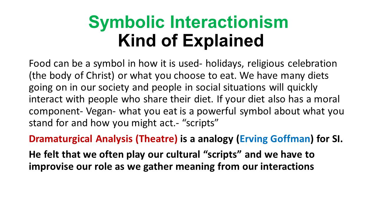 An introduction to sociology chapter 1 ppt video online download symbolic interactionism kind of explained biocorpaavc