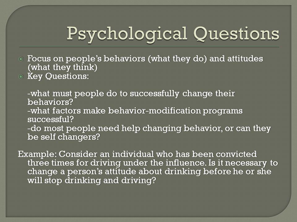self change program behaviour modification