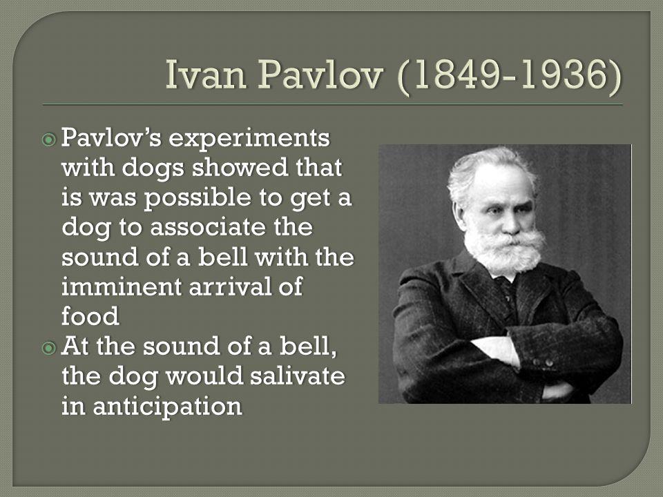 Pavlovs dogs study