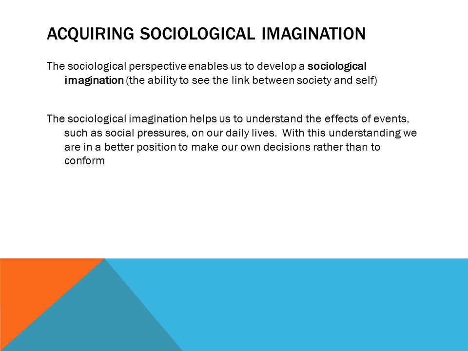 the sociological imagination the effect of Transcript of sociological imagination on education sociological imagination on education sociological concept the negative effects of education by.