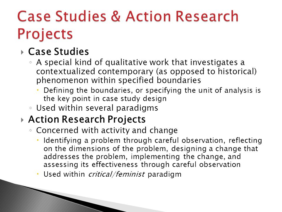 Action Research Paradigm Protocol