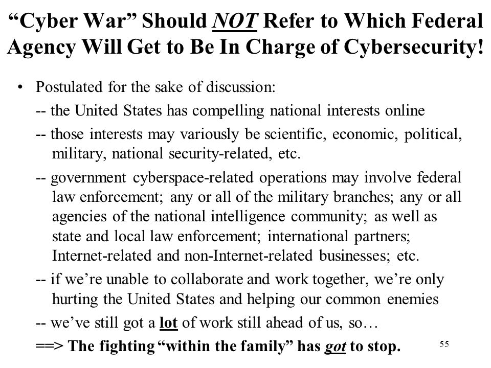 """the united states battle against cyber war cyber espionage and cyber terrorism Subjects: lcsh: cyberterrorism—united states—prevention 