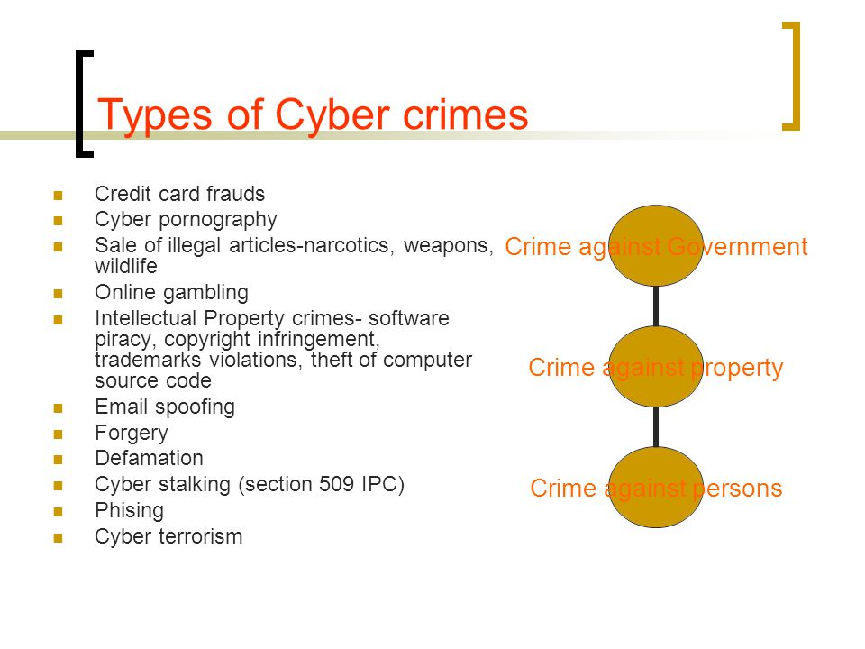 an analysis of the dangers and types of computer crimes and frauds Experts on computer fraud attest to the fact that opportunity more than  a  recognition that specific types of crime are unique in  thus the analysis of  decision.