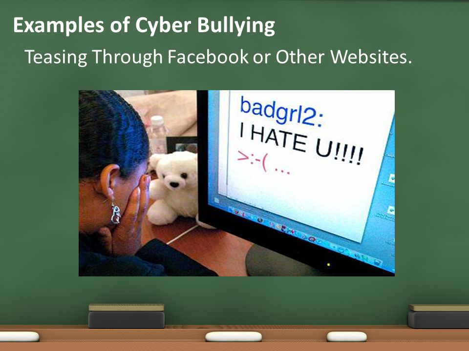 point of view on cyber bullying Opposing views: the bullying crisis in america facebook the bullying crisis in bullying is real for them and from his view it is a crisis for young people.