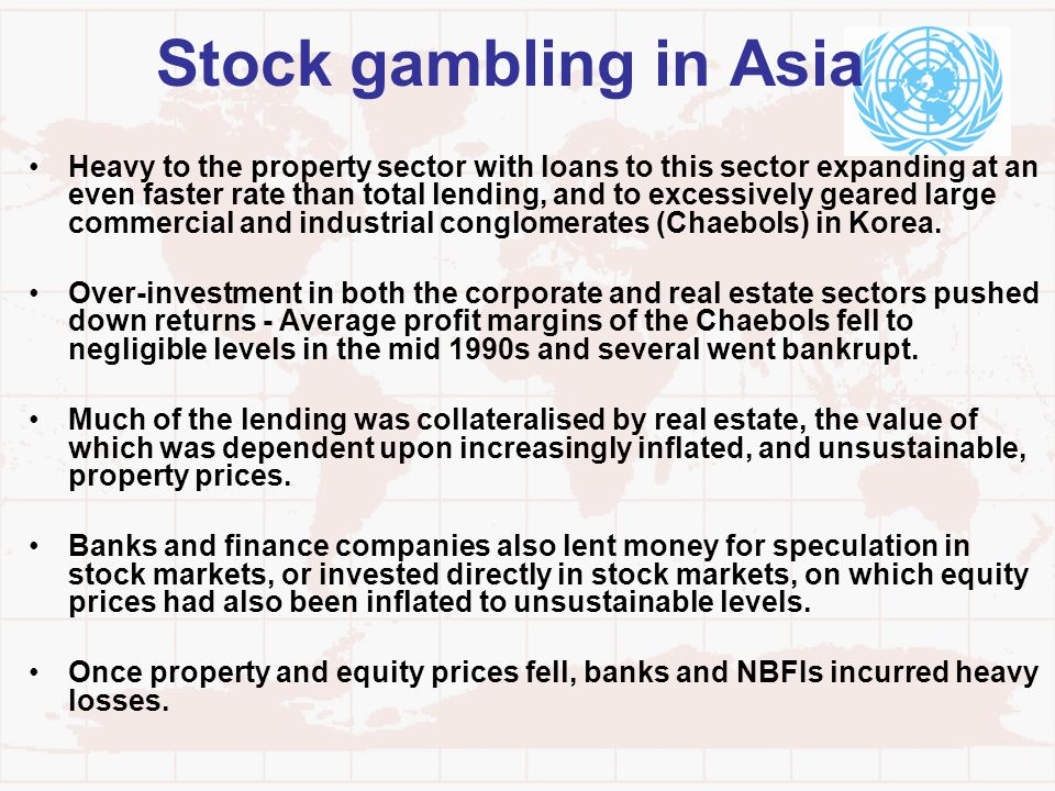 Stock gambling in Asia