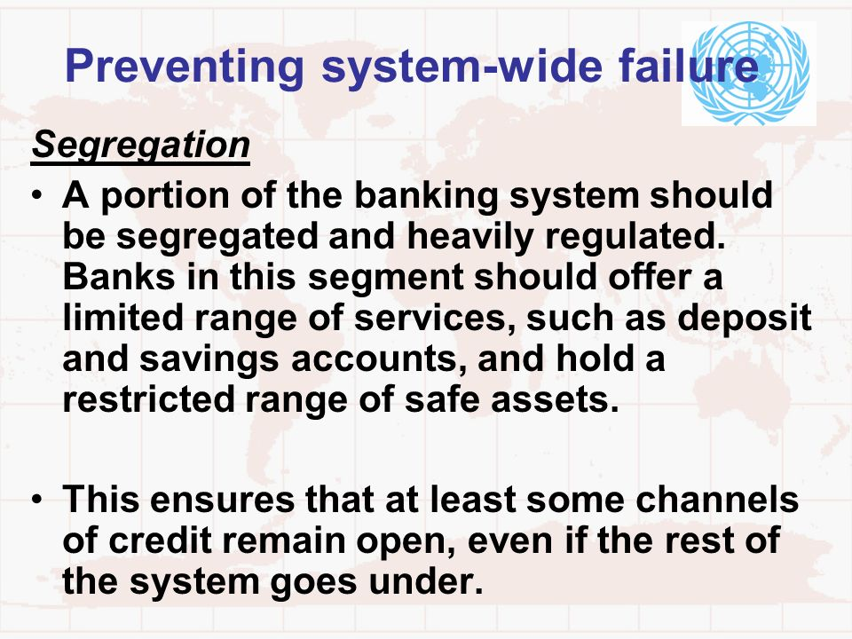 Preventing system-wide failure