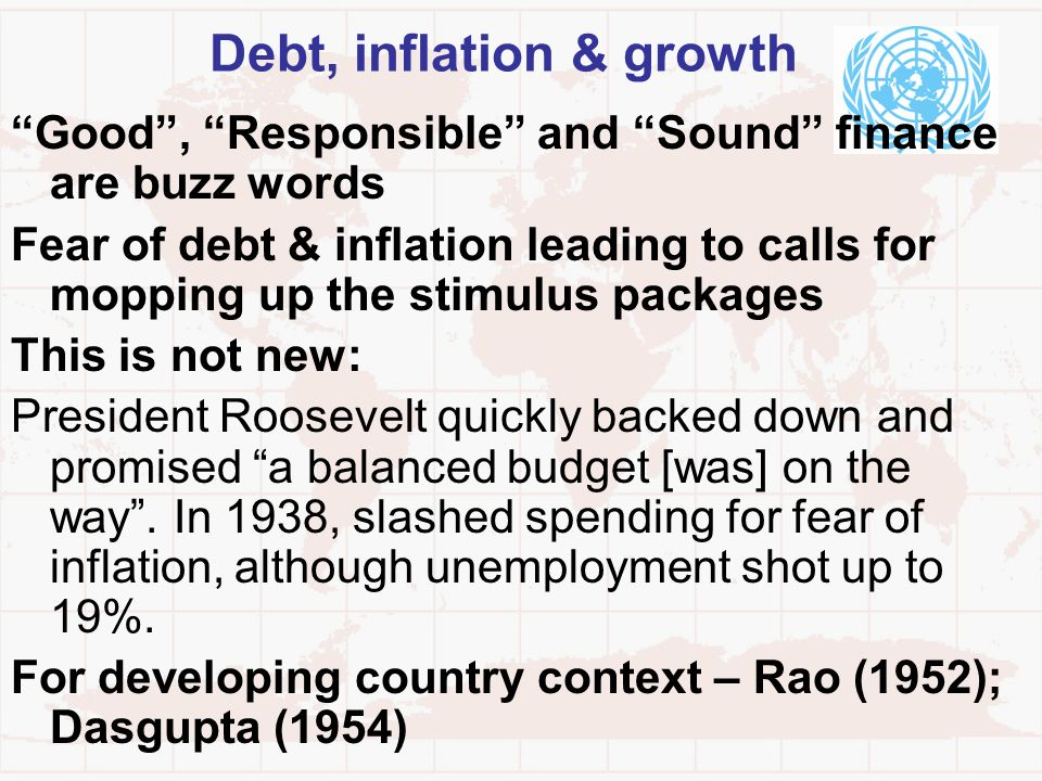 Debt, inflation & growth
