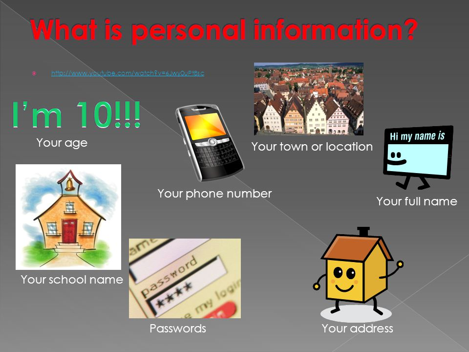 What is personal information