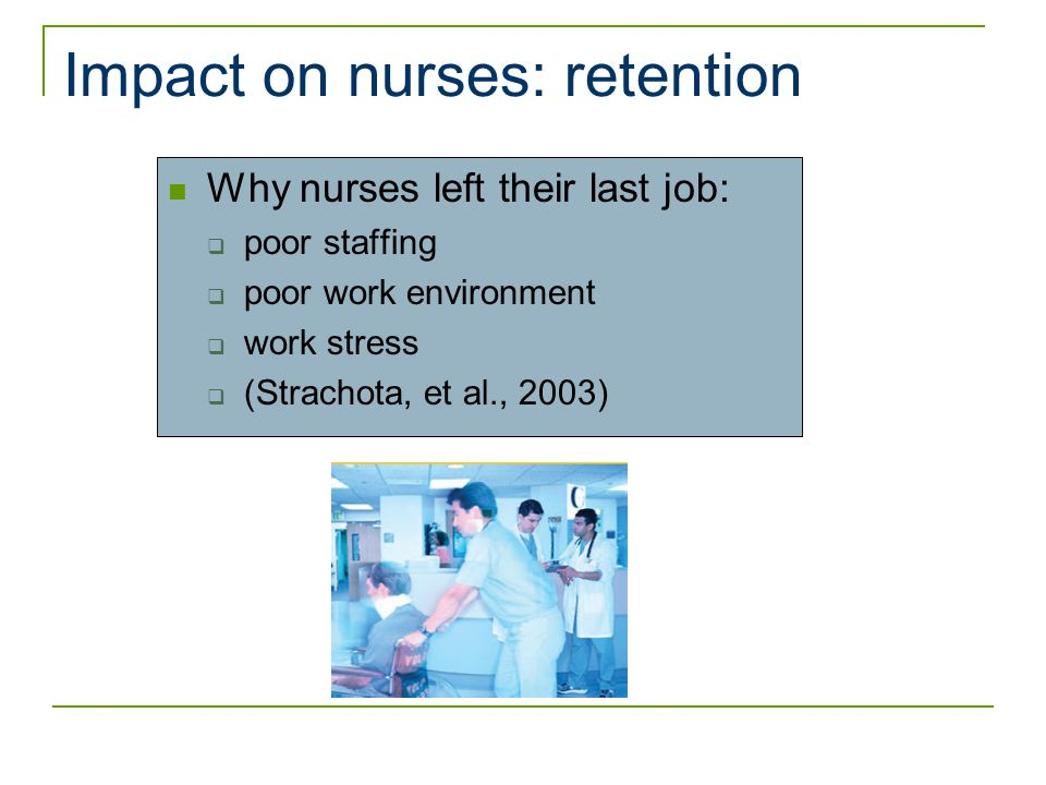 The Impact of Nurse Staffing on Hospital Quality