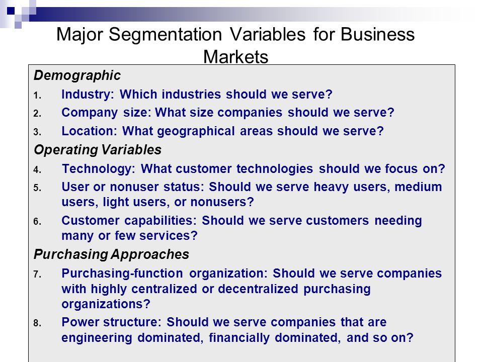 international market segmentation and targeting pdf